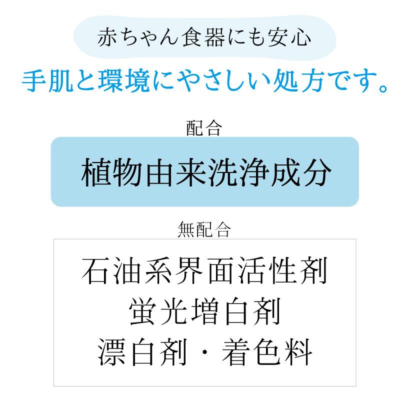 エコ洗剤 チャレンジe 台所用 【無香料】 お徳用(詰替 300ml×5袋)