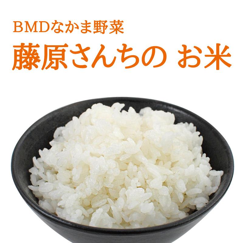 【令和2年産新米入荷】 藤原さんちの お米 3kg 【BMDなかま野菜】