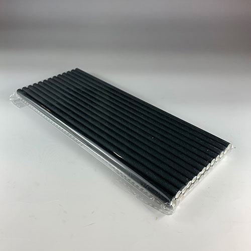 紙ストロー(黒)バラ 10000本