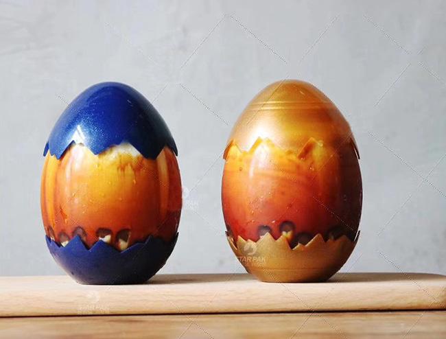 ドリンクボトル 380ml 卵型フタ付き(ダークブルー) 100個