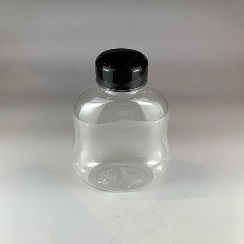 ドリンクボトル 400ml ゴード 黒フタ付き 100個