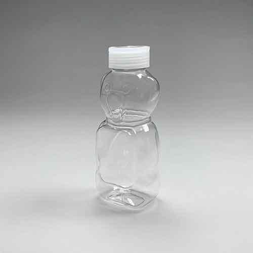 ドリンクボトル 430ml アニマル白フタ付き 100個