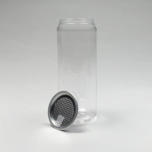自動缶シーリング専用 フルオープン容器(円柱)500ml 100個入