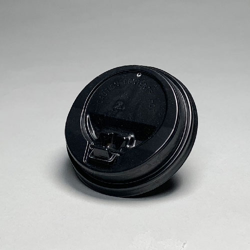 86mm口径 開閉式フタ 黒 2000個