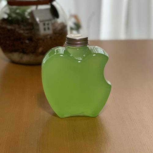 ドリンクボトル 400ml アップル フタ付き 200個
