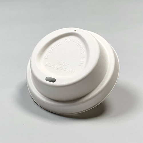 90mm口径 紙カップ対応ドリンキング紙ECOフタ(白)1000個