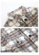 ★SALE/15%オフ★[残り3点]《新作》レトロチェックBIGシャツ風アウター-全1色-