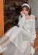 ★SALE/10%オフ★[残り僅か]ふんわりチュールマキシ丈スカート-全2色-