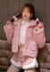 ★SALE/10%オフ★《新作》フード付きボアファーショート丈ジャケット-全2色-