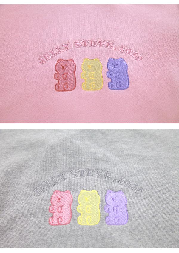 《新作》Little Bear定番スウェットプルオーバー-全3色-