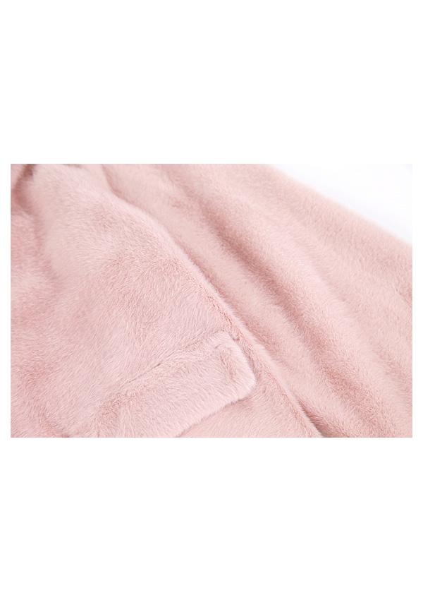 ★SALE/20%オフ★エコファーショート丈コート-全2色-