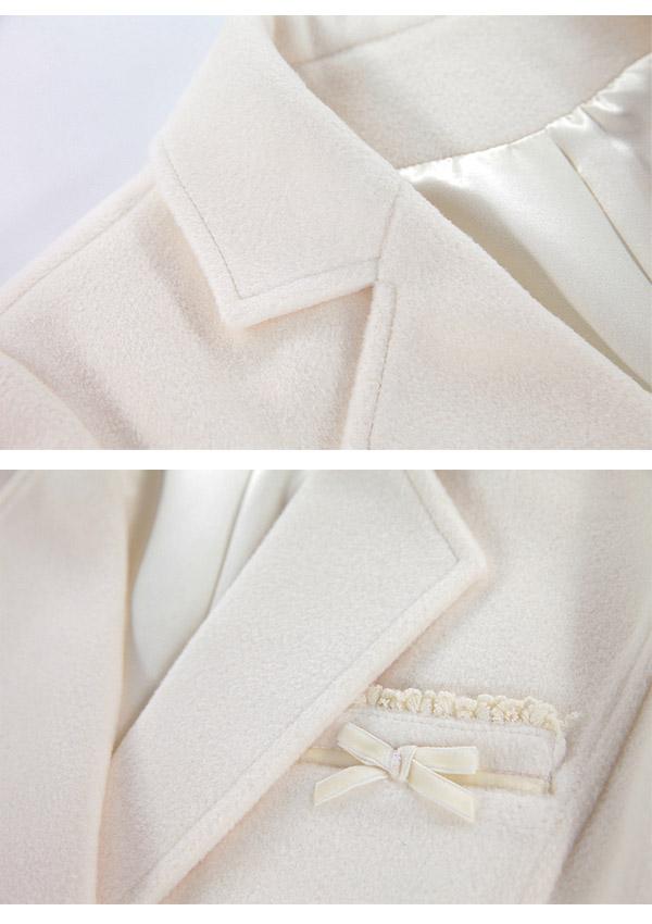 [残り僅か]《新作》上品ガーリーテーラードジャケット-全2色-