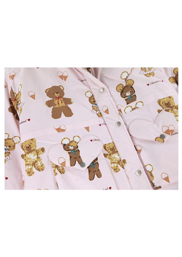 [残り1点]BabyBear中綿フード付きジャケット-全2色-