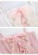 [予約]バレリーナ風レースアップキャミチュニック-全2色-