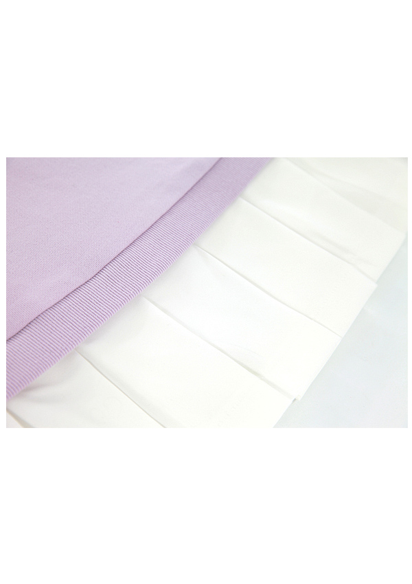 SleepyBear袖透けスウェットワンピース-全2色-