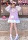 ★SALE/20%オフ★[残り僅か]SleepyBear袖透けスウェットワンピース-全2色-