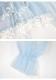 ★SALE/10%オフ★[残り5点]シアー感たっぷりレースフリルショート丈ガウン-全2色-