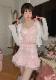 ★SALE/10%オフ★《新作》ダブルレースアップフリルミニ丈スカート-全2色-