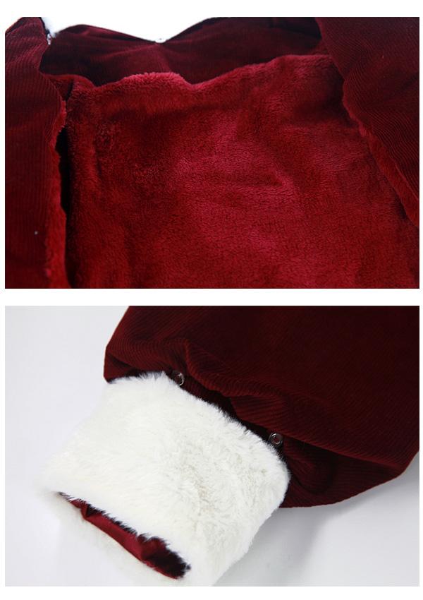 ★SALE20%オフ★[残り3点]2WAY極暖裏起毛セーラーセットアップ-全2色-