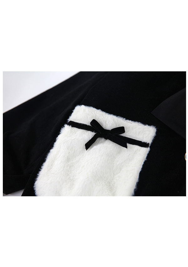 ★SALE20%オフ★[残り僅か]極暖裏起毛SETUP風セーラーBIGアウター-全2色-