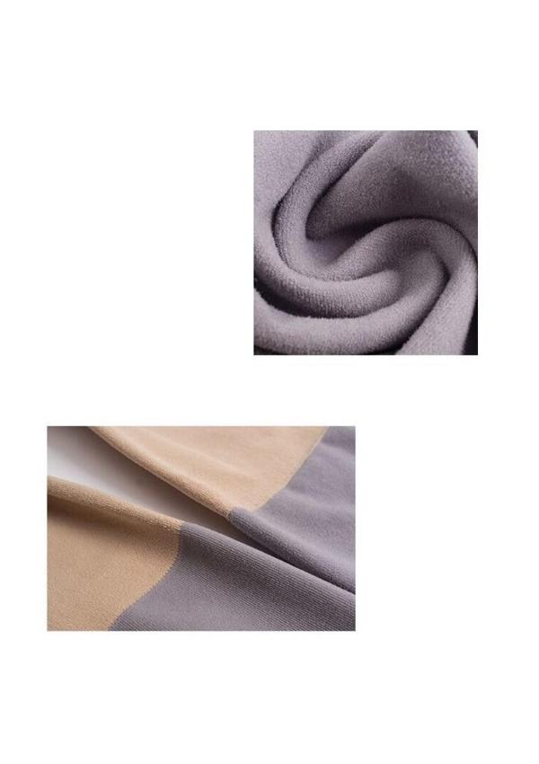 [残り3点]極暖裏起毛フェイクニーハイタイツ-全4色-
