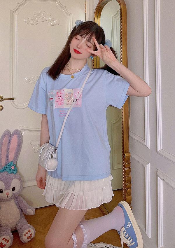 《新作》Sweetie Belle萌えキャラ定番Tシャツ-全3色-