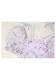 [残り3点]小花柄ショート丈パフスリトップス-全3色-