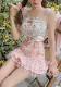 ★SALE/20%オフ★[残り1点]《新作》BIG HEARTビンテージ風刺しゅう入りキャミソール-全2色-