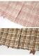 ★SALE/10%オフ★《新作》タータンチェック柄レースアップタイトスカート-全2色-