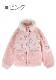 ★SALE/20%オフ★[残り僅か]Baby SheepボアMIX中綿ジャケット-全2色-