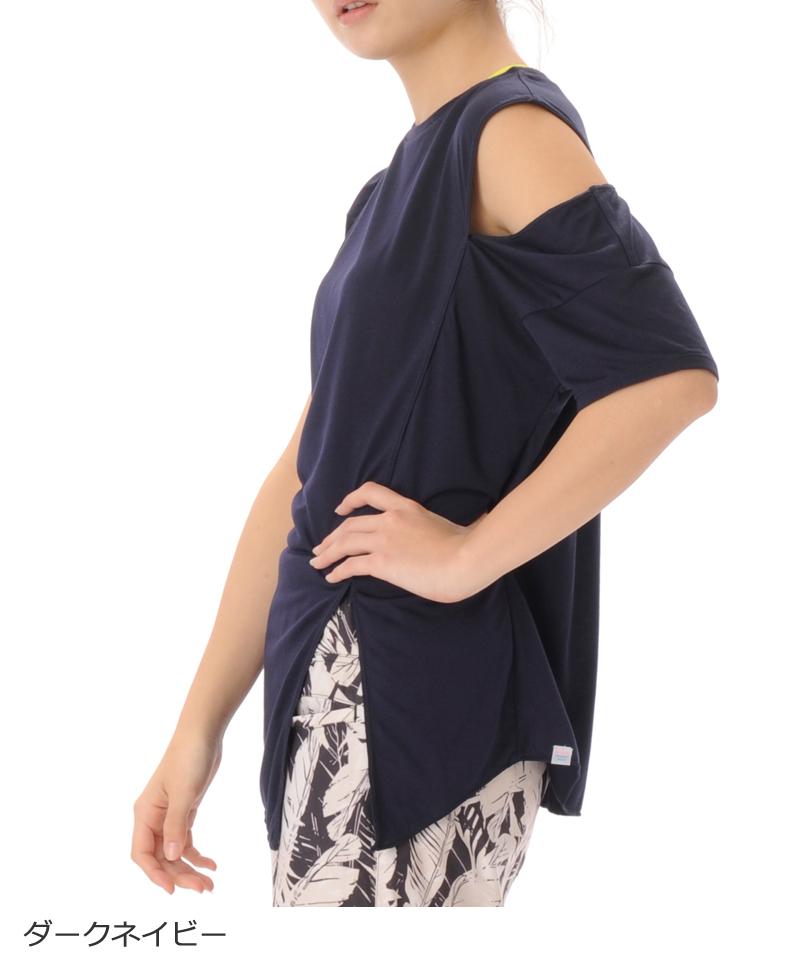 【返品交換不可】【50%OFF】デザインTシャツ フィットネスウェア GA-C593TS(1906 G-FIT) ジーフィット