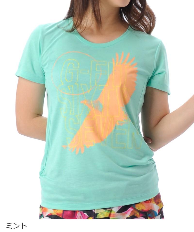 【返品交換不可】【50%OFF】Tシャツ フィットネスウェア GA-C544TS(1805 G-FIT) ジーフィット