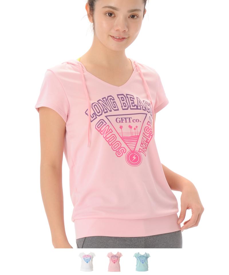 【40%OFF】Tシャツ フィットネスウェア OM-C984TS(1902 G-FIT) ジーフィット