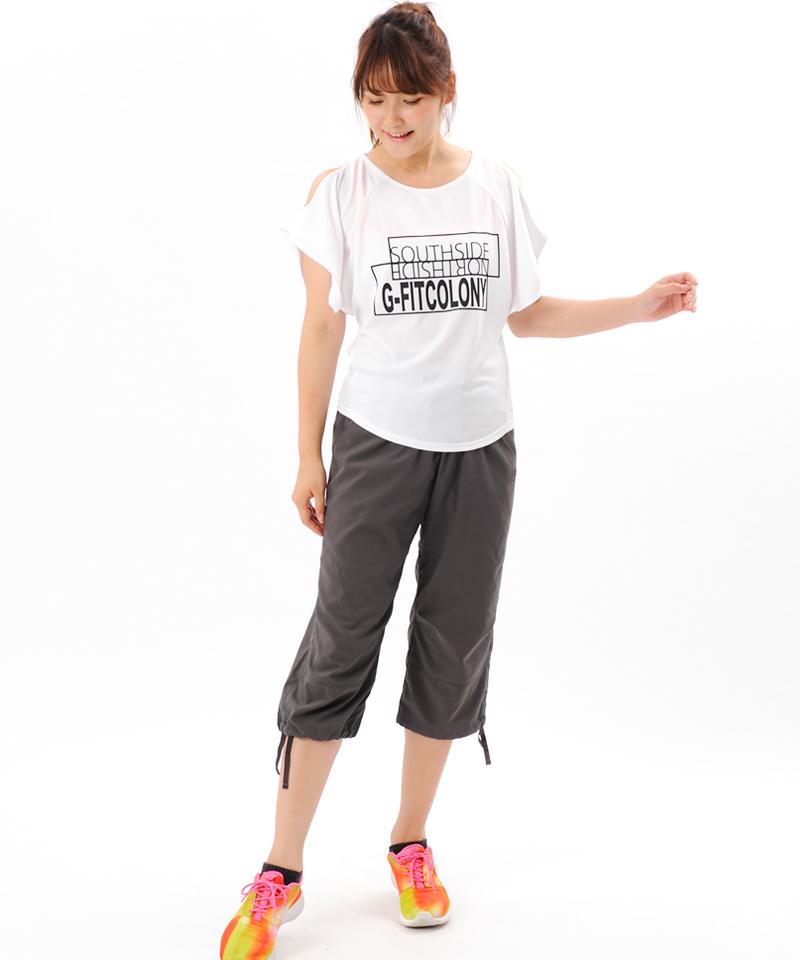 【返品交換不可】【50%OFF】プリント Tシャツ OM-C957TS(1807 G-FIT)