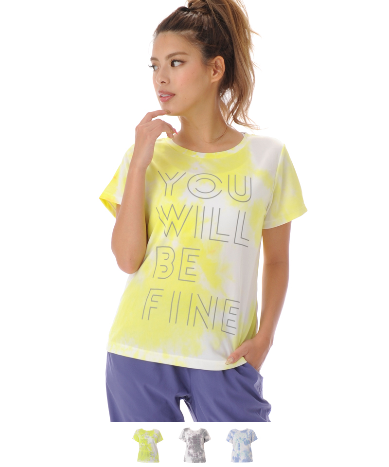 【返品交換不可】【50%OFF】Tシャツ フィットネスウェア OS-C015TS(1911 G-FIT VISTA) ジーフィット