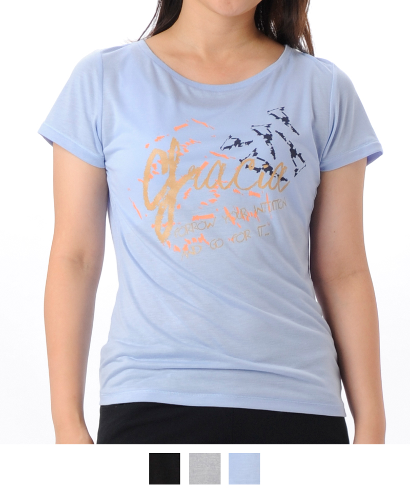 【返品交換不可】【50%OFF】Tシャツ フィットネスウェア GR-C030TS(1804 G-FIT) ジーフィット