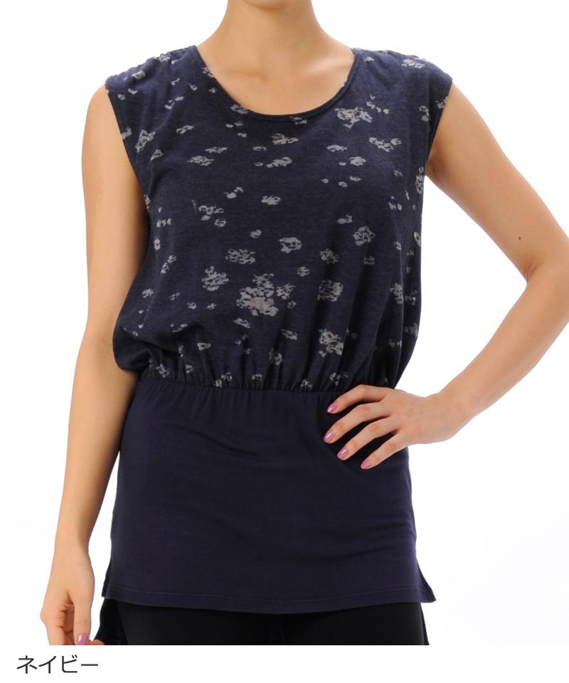 【返品交換不可】【ポッキリ価格】デザインTシャツ  ヨガウェア RS-C360TS(1810 RealStone) リアルストーン