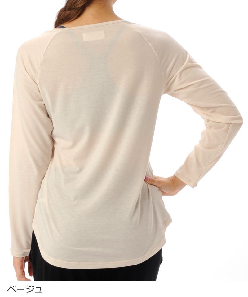 【40%OFF】ロングスリーブTシャツ  ヨガウェア RS-C364TS(1811 RealStone) リアルストーン