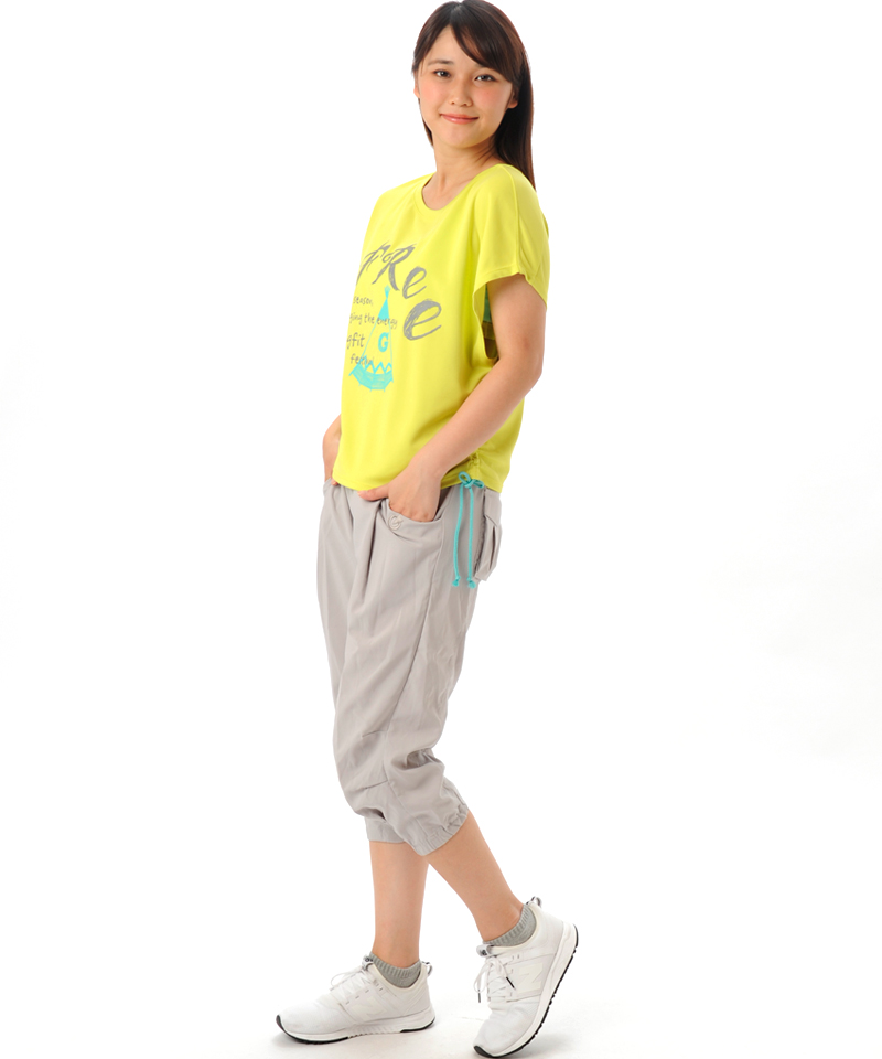 【返品交換不可】【50%OFF】シャーリング Tシャツ OM-C873TS(1707 G-FIT)