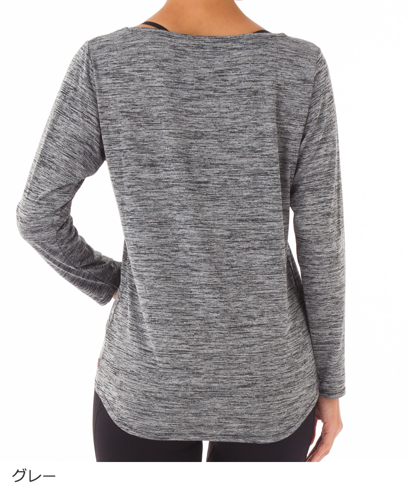 Flowy ロングスリーブTシャツ RS-C369TS(RealStone)