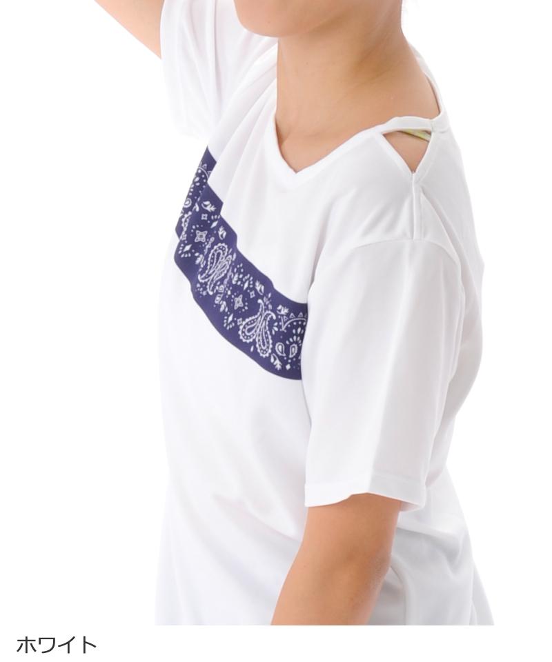 【40%OFF】デザイン Tシャツ フィットネスウェア OR-C015TS(1908 G-FIT) ジーフィット