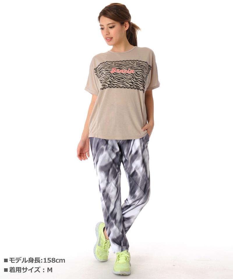 デザインTシャツ フィットネスウェア GR-C051TS(1909 G-FIT) ジーフィット
