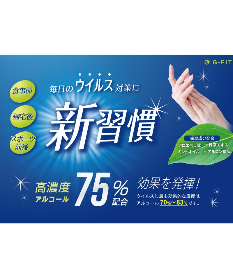 洗浄習慣 500ml ハンドジェルTW-SJ-500 (G-FIT)