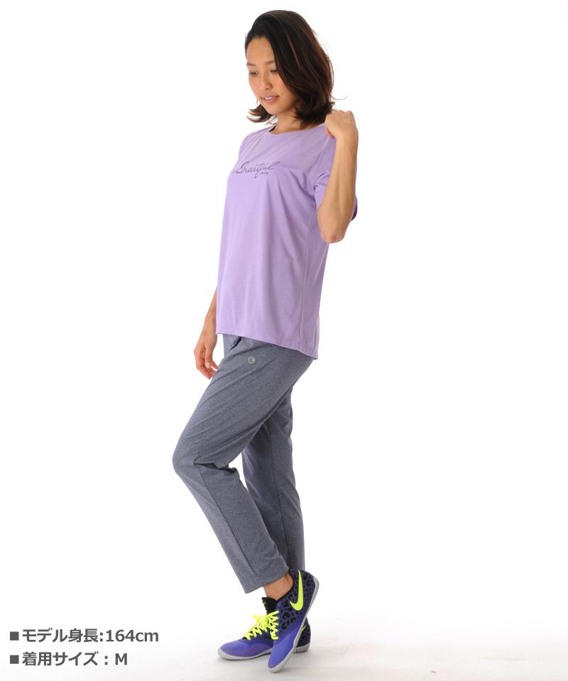 【40%OFF】Tシャツ フィットネスウェア GR-C052TS(1909 G-FIT) ジーフィット