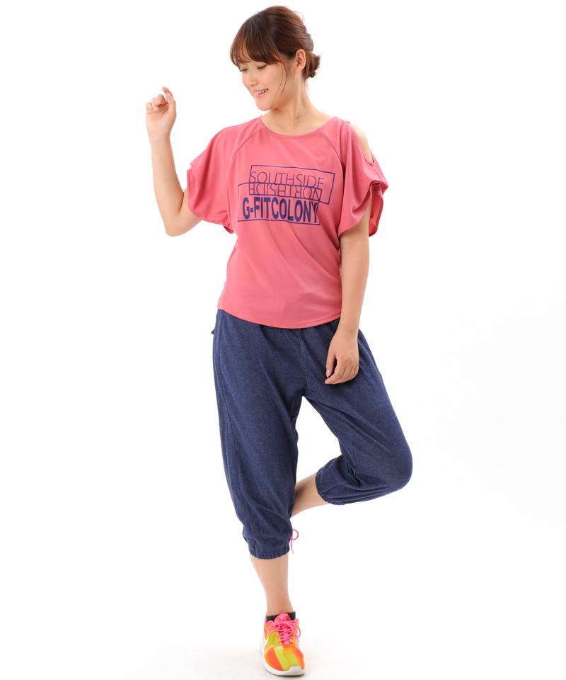 【廃盤】エアSweat カプリパンツ GF-C511PP(G-FIT)