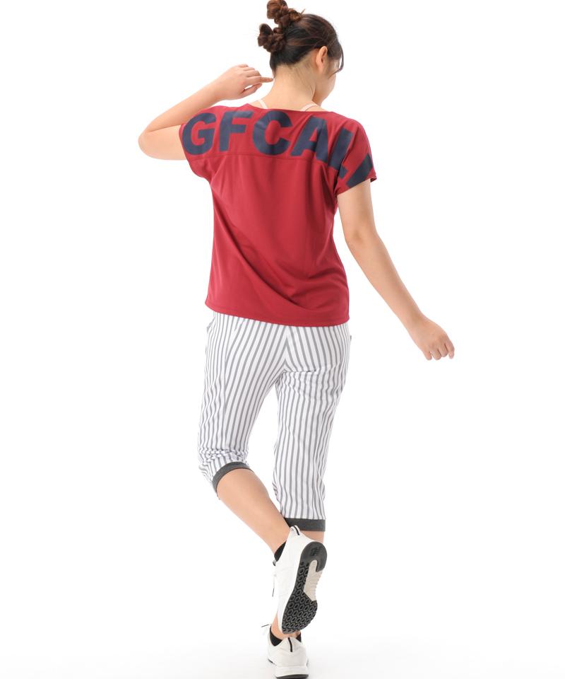 【返品交換不可】【50%OFF】Tシャツ フィットネスウェア OM-C974TS(1812 G-FIT) ジーフィット