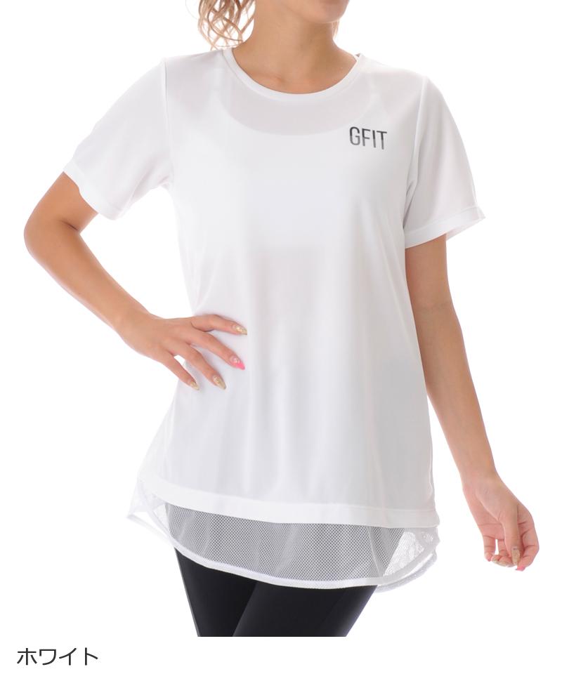 【40%OFF】Tシャツ フィットネスウェア OS-C003TS(1909 G-FIT VISTA) ジーフィット