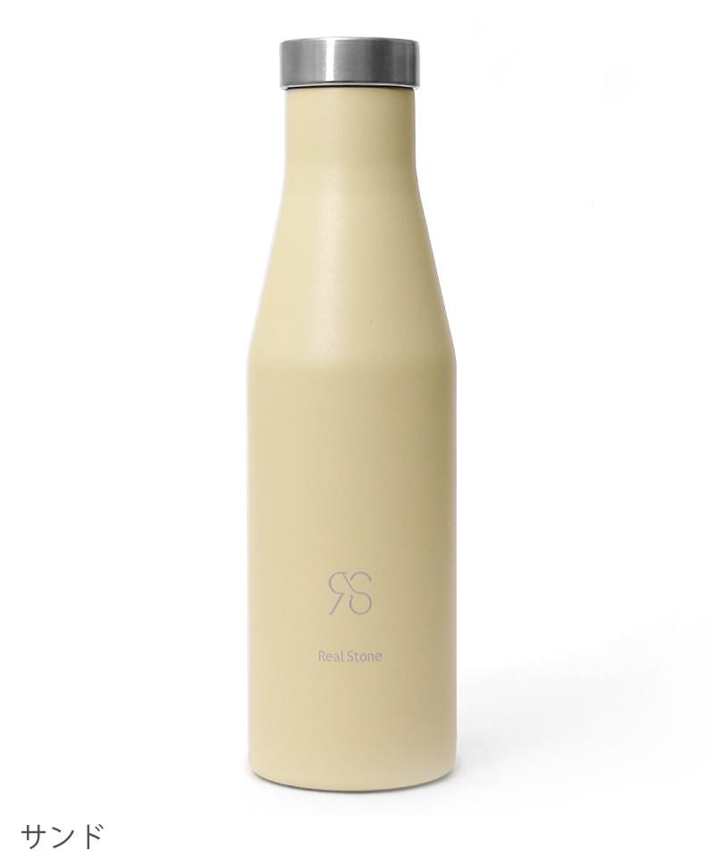 RealStone×MIZU 415ml 保温保冷スリムボトル RS-G118 RealStone リアルストーン