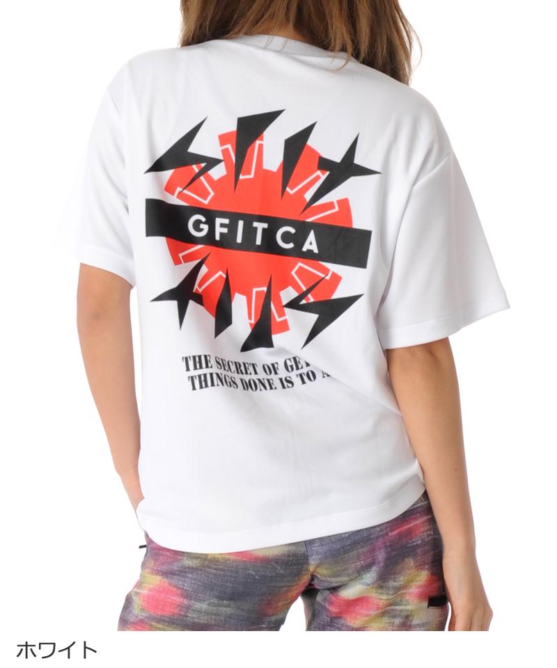 デザインTシャツ フィットネスウェア GA-C604TS(1910 G-FIT) ジーフィット