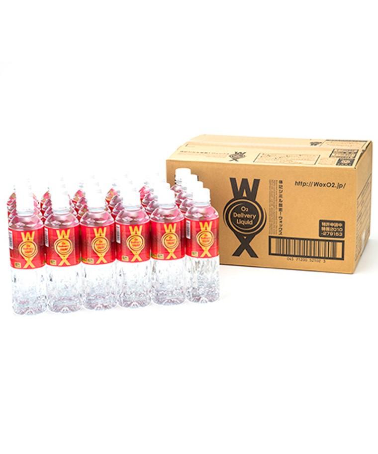 WOX ウォックス サイエンスドクターチームが作った酸素補給水 500ml 1ケース(24本入り) TW-WOX500 (TWINS)